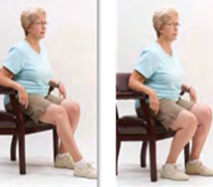 Seated Knee Flexion (KNEE replacements)